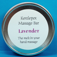 Lavender Massage Bar