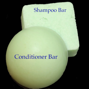 Coconut Lemongrass Shampoo Bar (for normal hair)