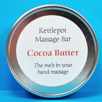 Cocoa Butter Massage Bar