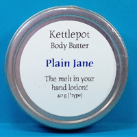 Just Plain Great Body Butter