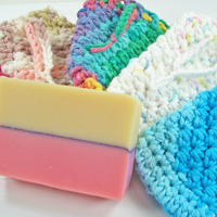 Soap Saver Cotton Pouches